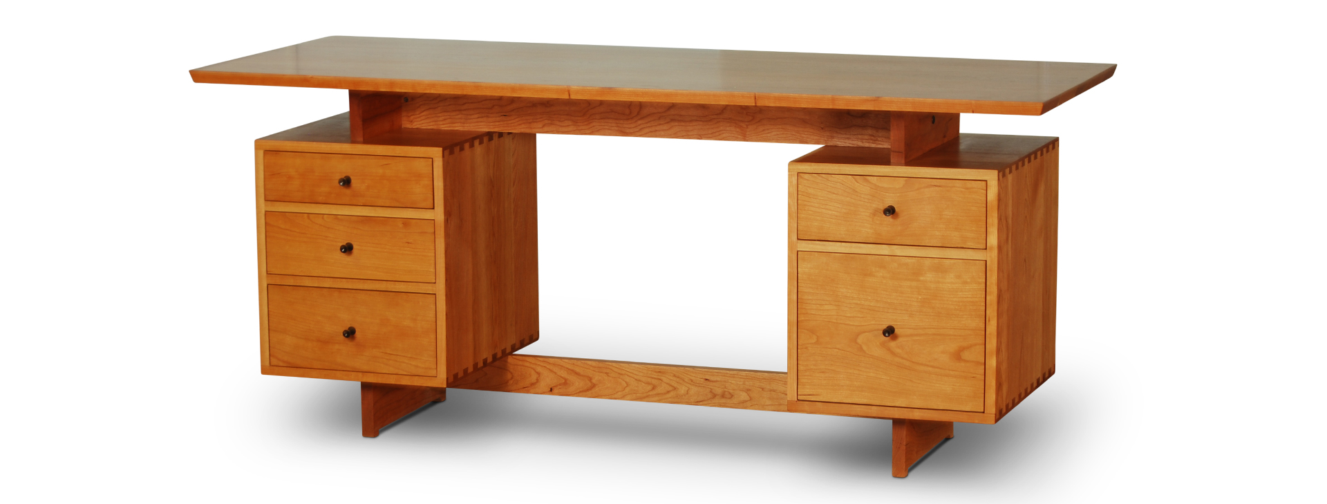 AS Desk Double Pedestal