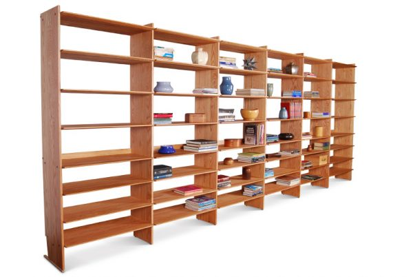 Bookcases Wall Units Red Oak