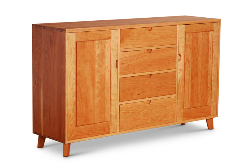 Dovetail Credenza Drawers with Doors