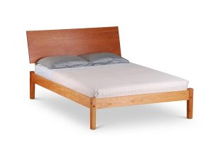Harrison Platform Wood Panel Headboard