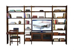 Ania Stempi Walnut Wall Unit