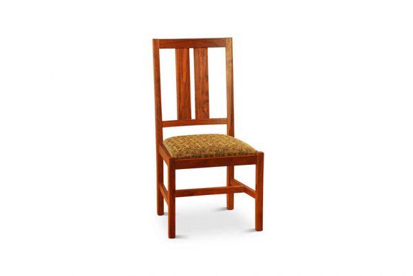 Bisbe Side Chair in Walnut