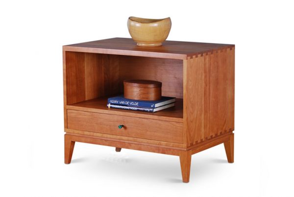 Biscayne Nightstand in Cherry