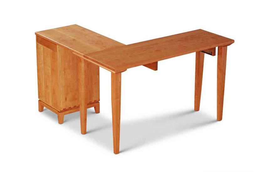 Corner Desk rear view