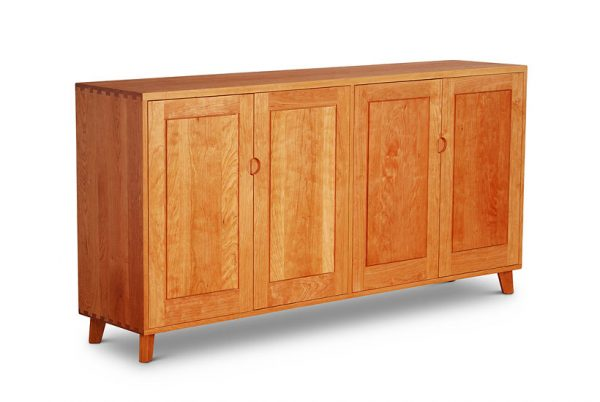 Four Door Credenza in cherry