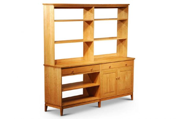 Harrison Dresser Hutch Duo in Cherry
