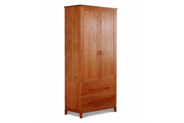 Harrison Two Drawer Armoire with 2 deep drawers