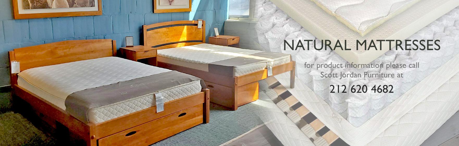 Natural Mattresses Scott Jordan Furniture