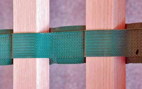Nylon bed slat webbing