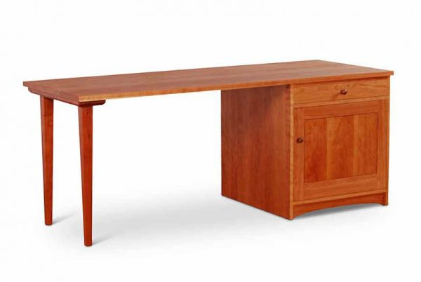 Pedestal Desk Cherry