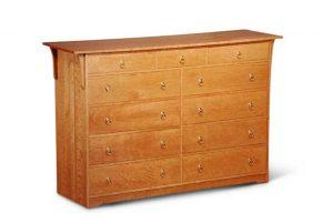 Prairie Eleven Drawer Dresser