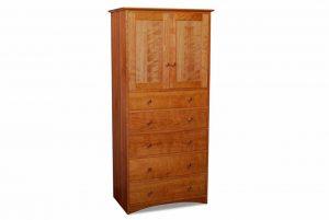 Prairie Five Drawer Storage Cabinet