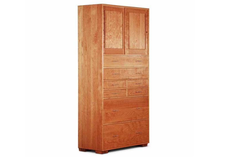 Sliding Door Armoire - Scott Jordan Furniture Loft