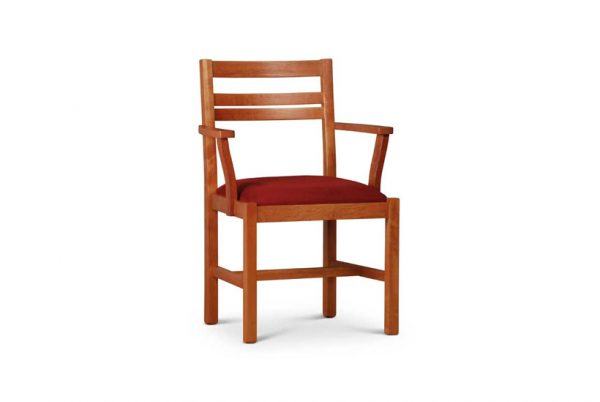 Spring Street Arm Chair in Cherry