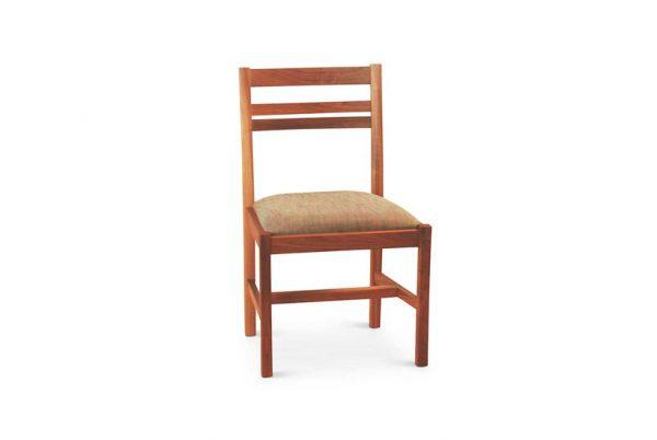 Spring Street Side Chair in Walnut