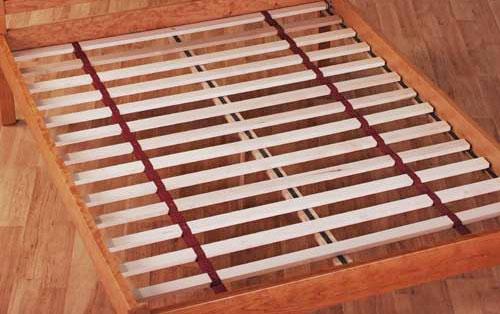 Platform bed slats