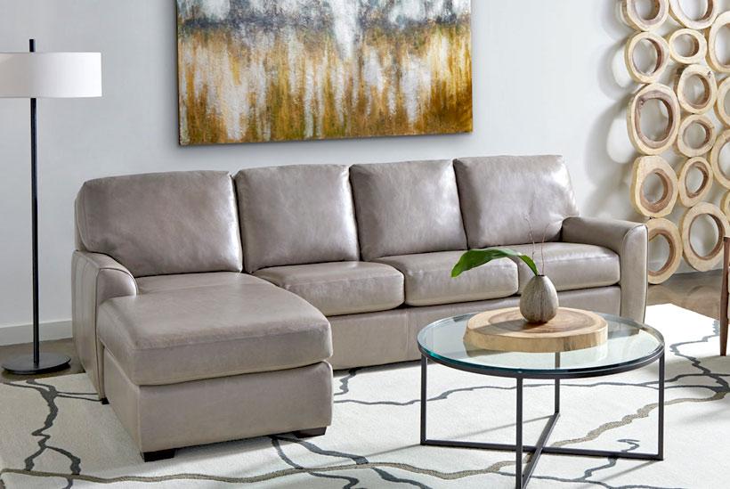 American Leather Kaden Comfort Sleeper Sectional Sofas