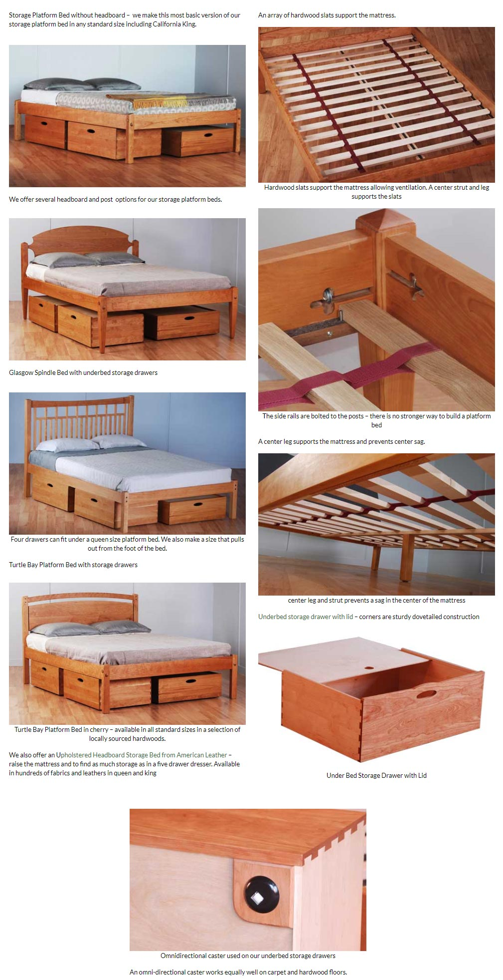 Storage Platform Beds Scott Jordan Furniture Loft