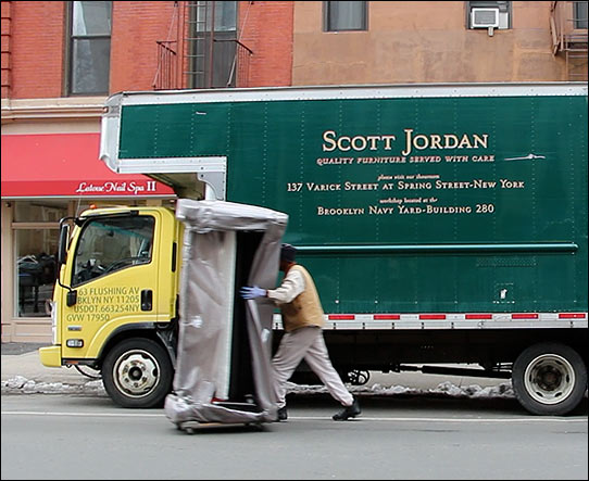 Furniture Delivery Scott Jordan Delivery Team Is The Best In New York