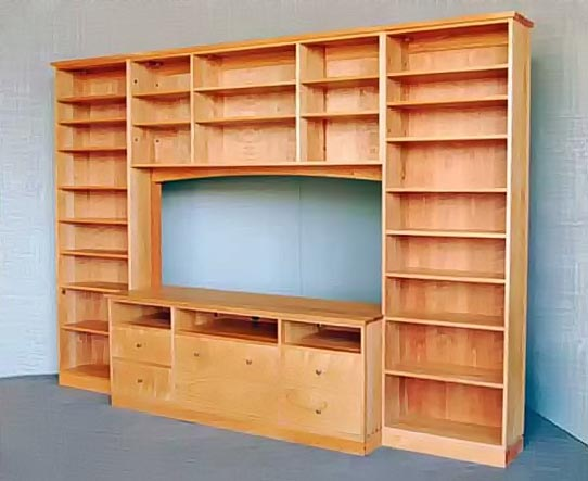 Made to Measure Cabinets in Solid Hardwood