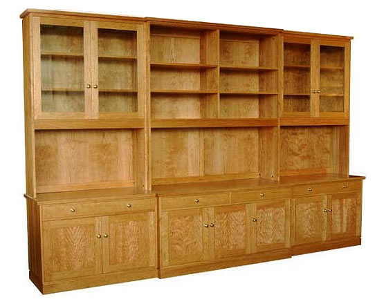 Wall Unit Storage System designed by Ania Stempi