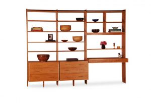 Bedroom Wall Unit in cherry