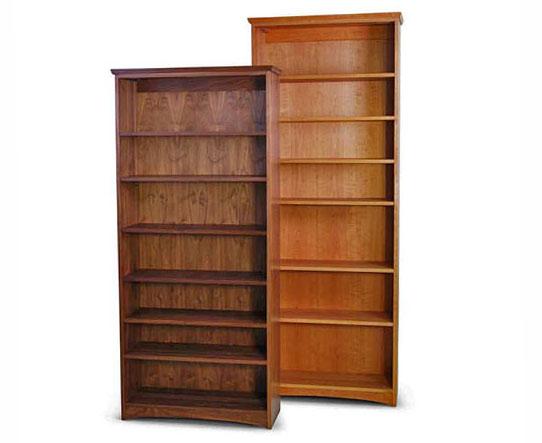 Bookcases Cherry Walnut Maple