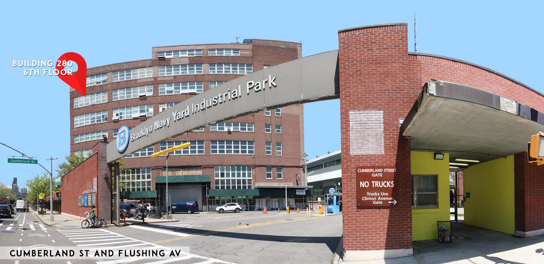 Brooklyn Navy Yard – Building 280 – 6th floor