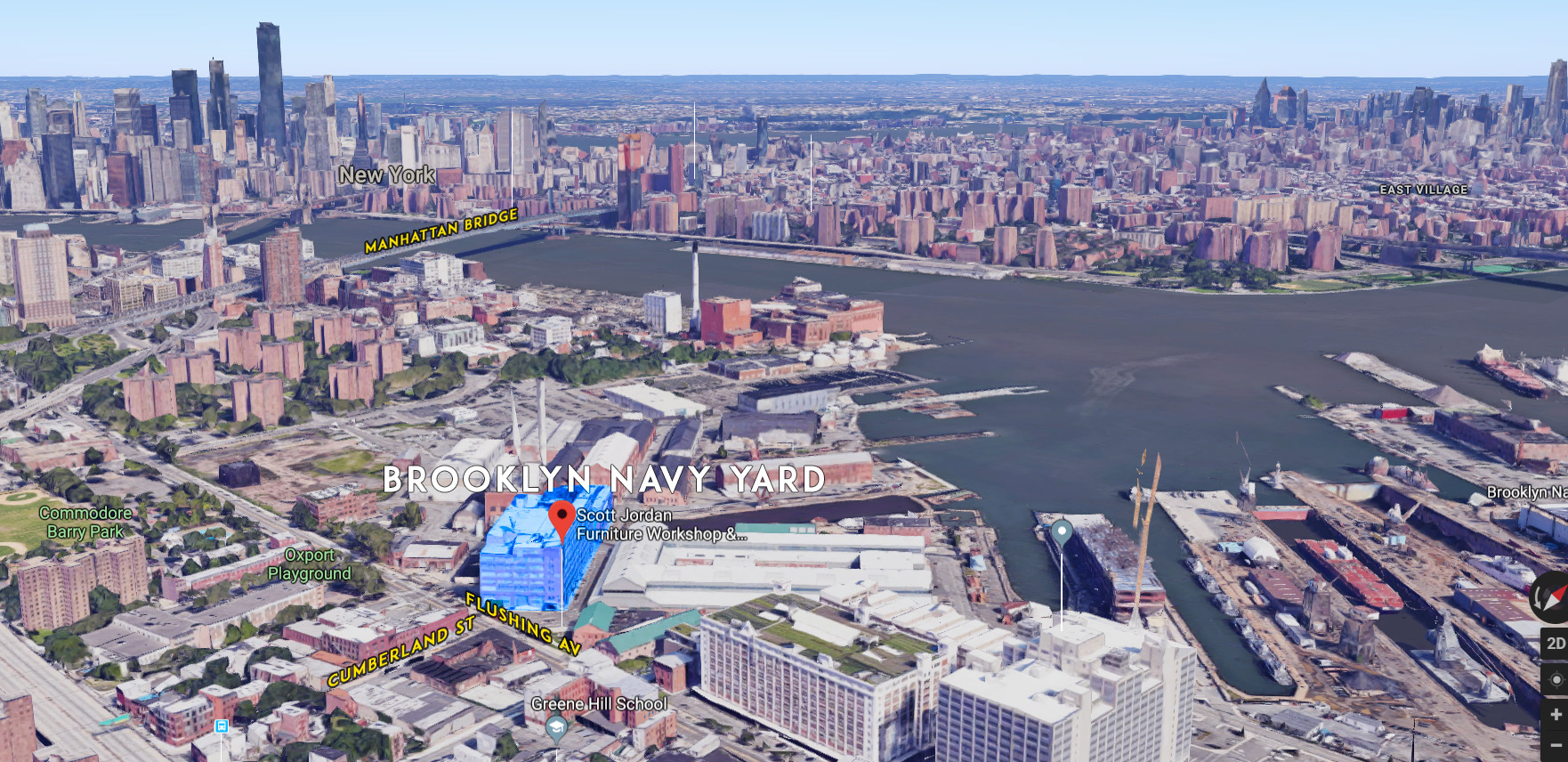 Brooklyn Navy Yard Map