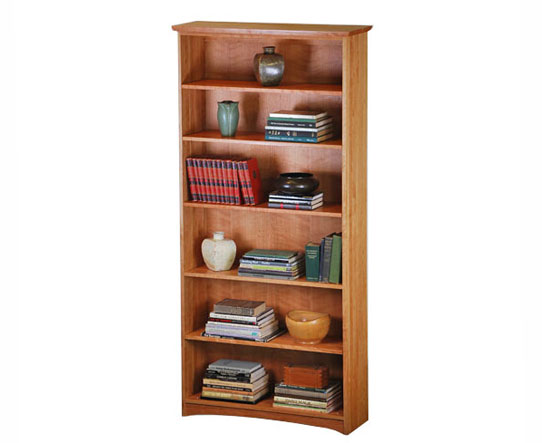 Cherry Standard Bookcase