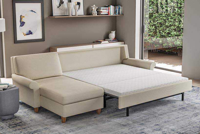 Gibbs Section Open Sofa Bed Scott Jordan