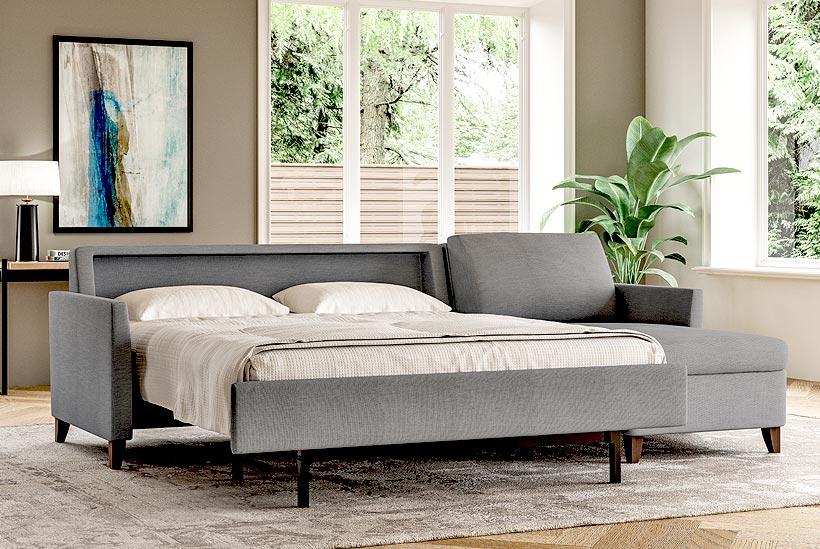 Harris Sectional Open Sofa Bed Scott Jordan