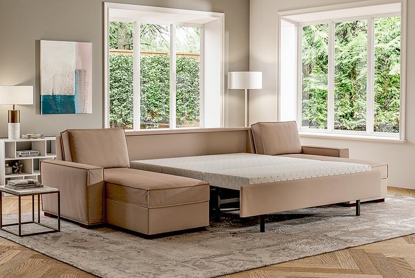 Madden Sectional Open Sofa Bed Scott Jordan