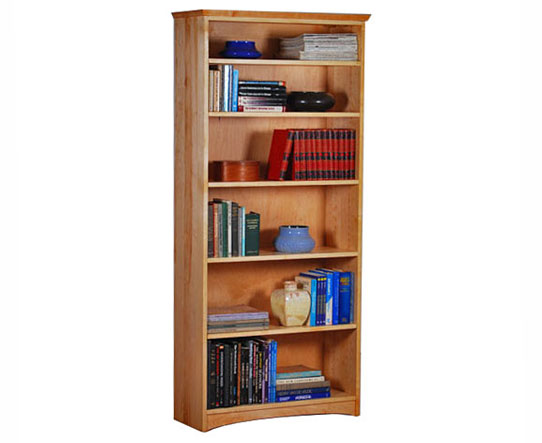 Maple Standard Bookcase