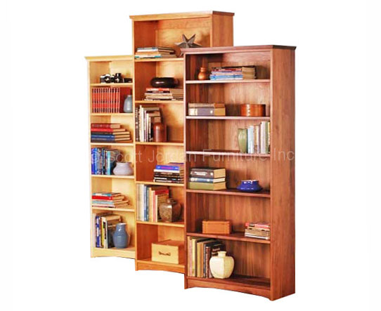 Stock Bookcases Cherry Walnut Maple