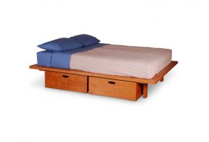 Platform Bed With Storage Under