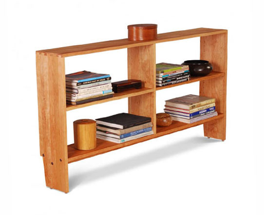 New Directions Bookcase dovetailed top