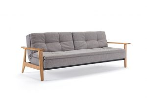 Dublexo sofa bed with Frej arms 521 Side