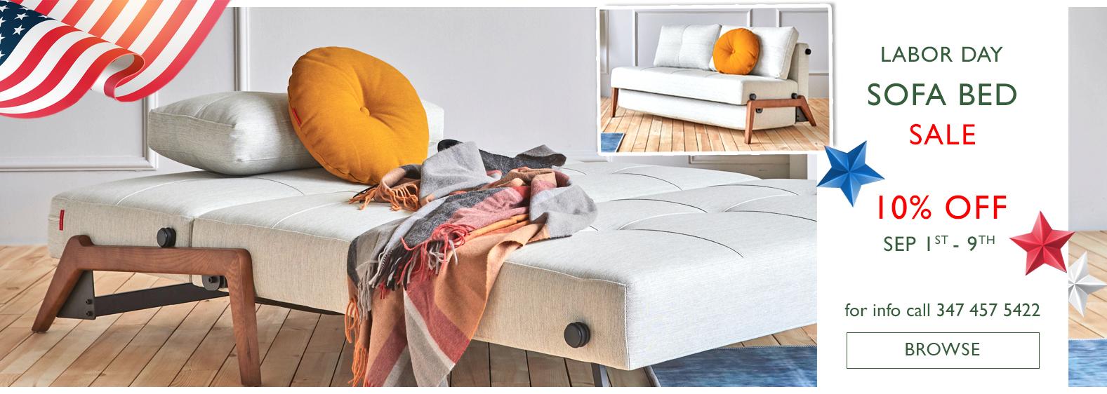 Scott Jordan Labor Day 2020 Innovation Sofa Bed Sale